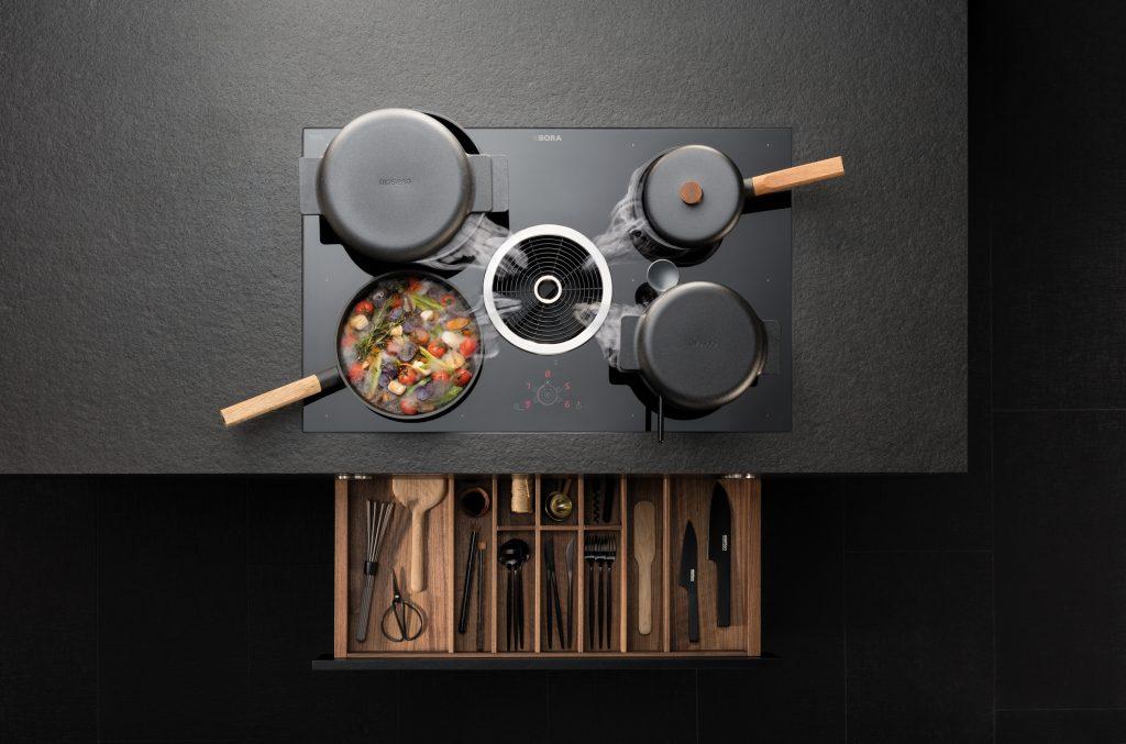 BORA Basic - Kochzone mit Stauraum